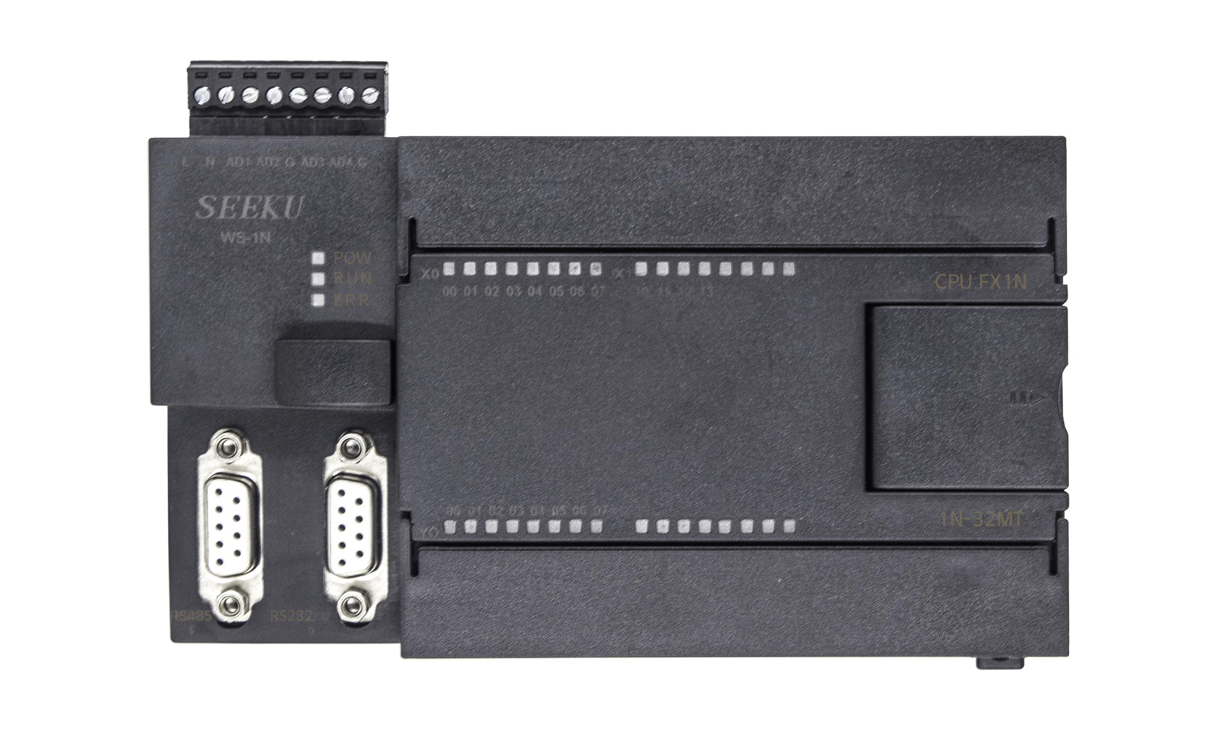 為勝智控FX3U-32MTPLC工控板2AD2DA銷售