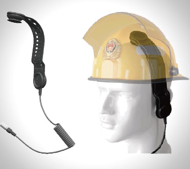 战术骨传导通讯耳机H1头骨震动式通讯装置