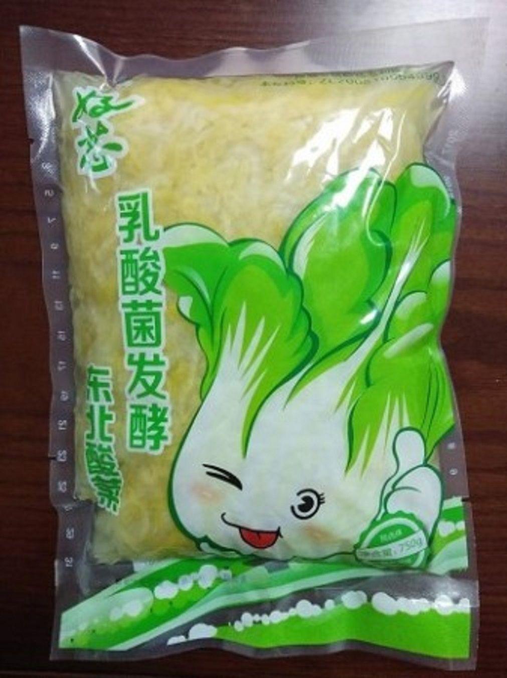 750g酸菜丝