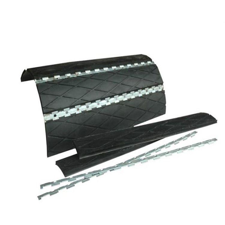 压条式瓦壳包胶专业包胶技术