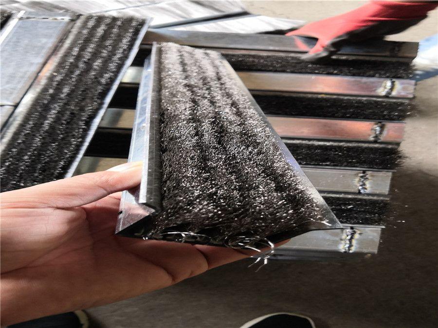 鋼廠燒結機頭尾磁性密封鋼刷
