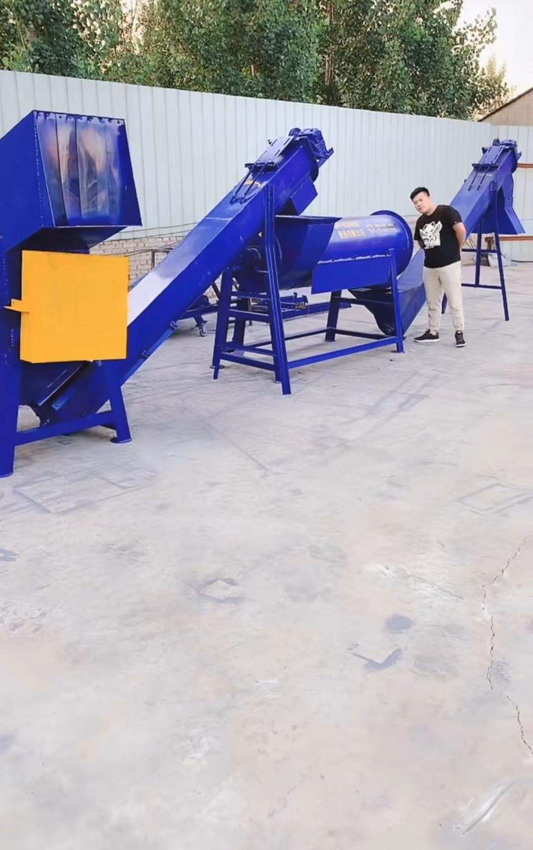 PVC管道及塑钢专用流水线