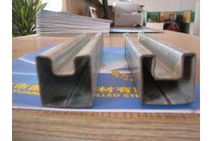 凹槽管厂家、非标凹形管尺寸