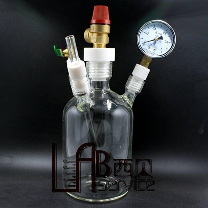 玻璃压力瓶