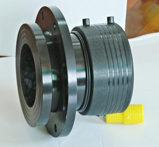 天津電熔法蘭PE管件供應