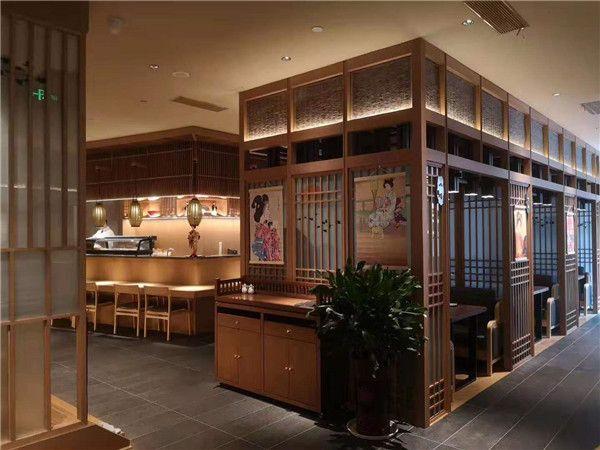 杭州餐厅装修木制品定制