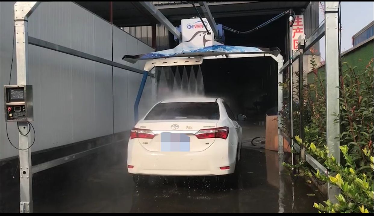 出租全自动洗车机 杭州科万德海燕款洗车机租赁