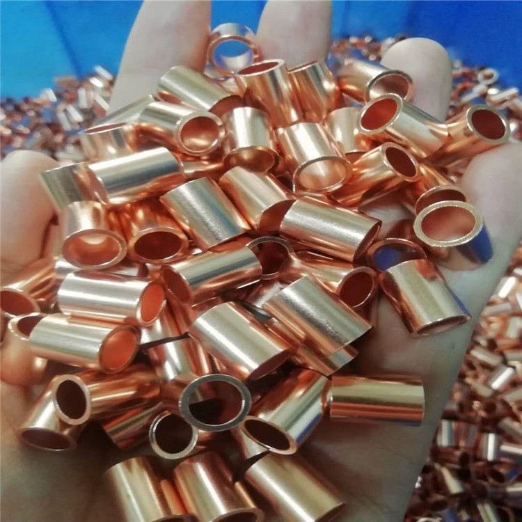 黃銅管廠家H62/H65銅毛細管 銅管加工精密切割 切斜口 開槽 打孔
