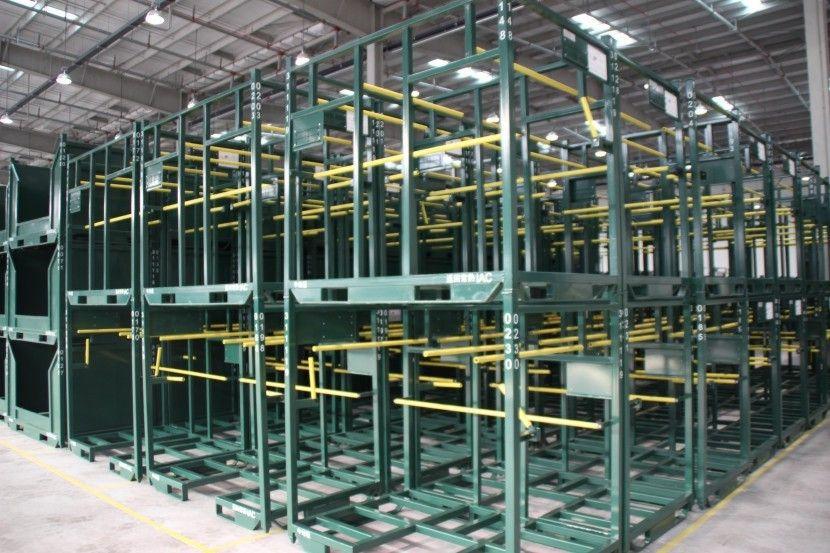 汽車料架周轉架中地毯料架-蘇州鑫輝汽車料架生產廠家