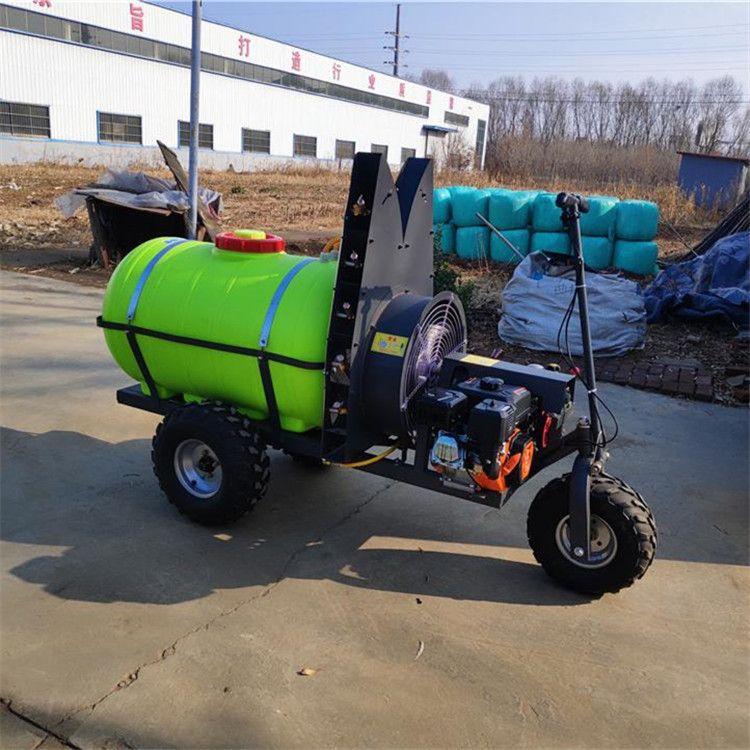 柴油8馬力打藥機 果園風送式噴藥機 自走式果樹專用打藥機