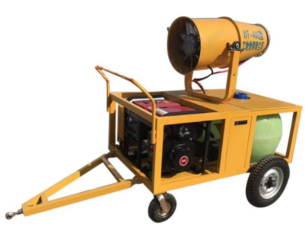 旺丰40型拖车式喷雾机雾炮工地降尘料场煤矿农林果园环保煤矿降尘降温花圃苗木