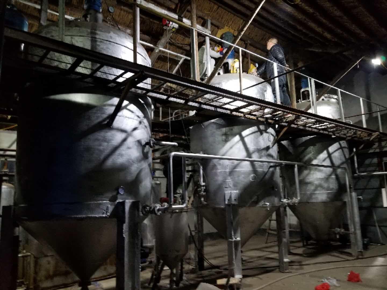 免蒸馏自动排渣废机油过滤设备