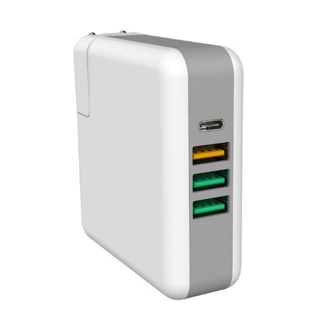 新款PD手机充电器 QC3.0快充充电头 USB多口61W旅行充电器适配器