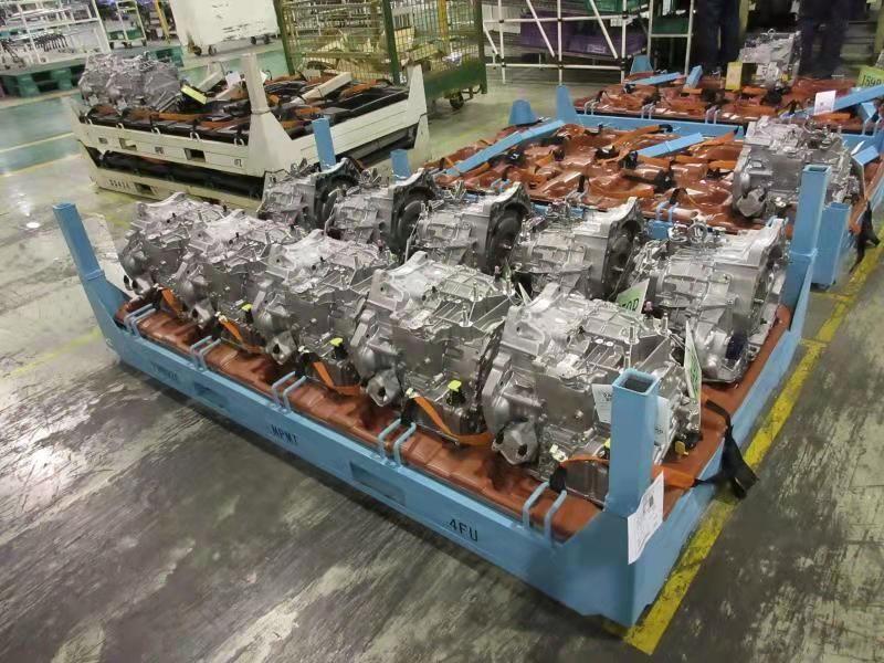 苏州变速箱料架生产厂家 汽车厂汽车零部周转架