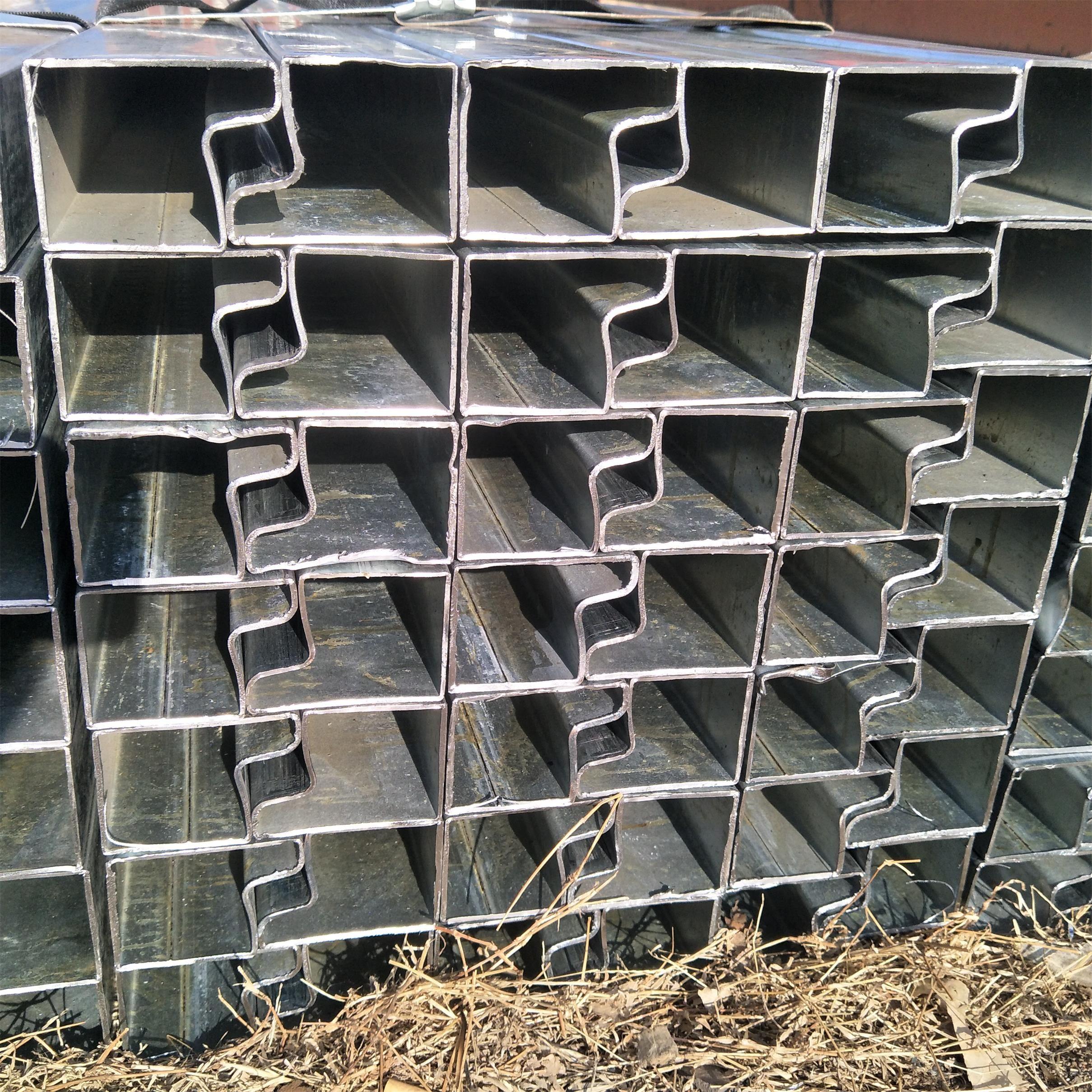 200*60P形管集裝房立柱用