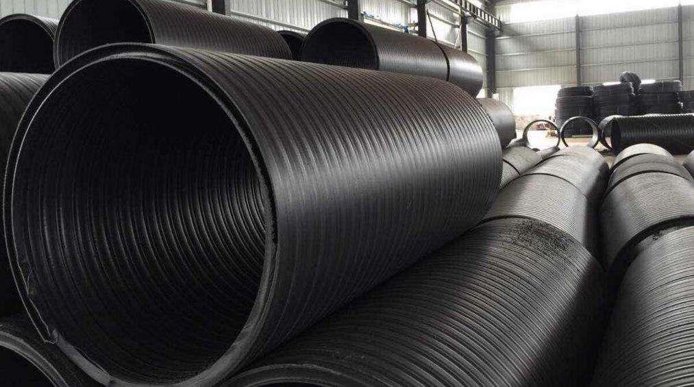 双平壁中空缠绕管钢塑复合排水管