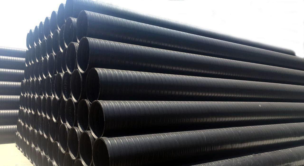 HDPE塑钢缠绕管批发
