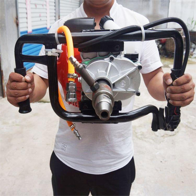 厂家便捷式取芯背包钻机 汽油冲击取芯背包钻机 轻便式岩心钻机直销