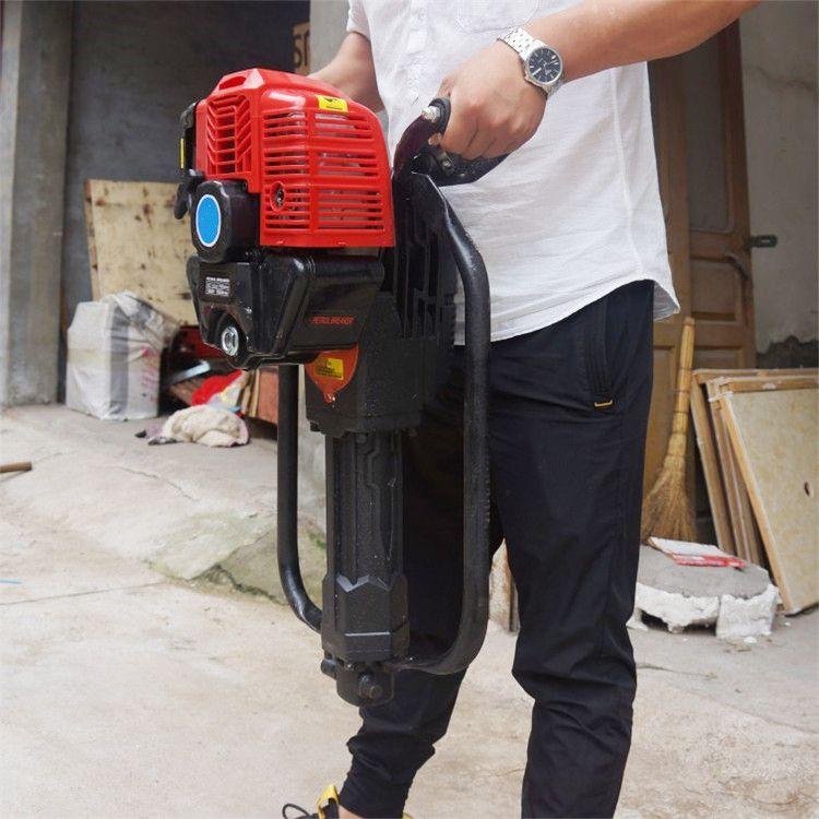 直销便携式背包钻机 轻便式浅层取样钻机 小型地矿勘测钻探机厂家
