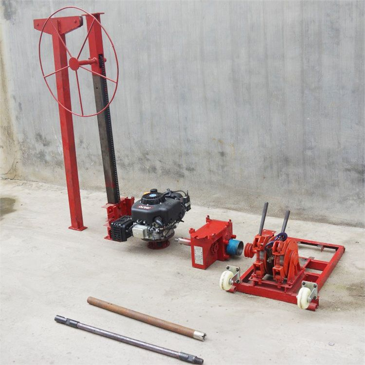 直销轻便式背包钻机 便携式取岩心钻机厂家 地质小型勘探钻孔机