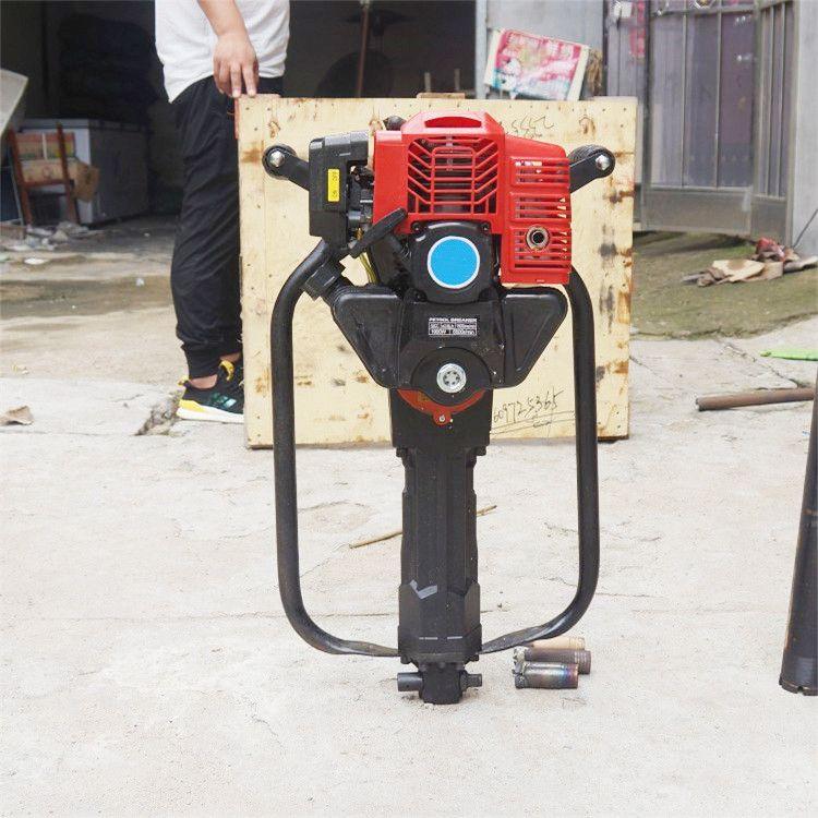 直销小型内燃式背包钻机 便携式取样钻机 轻便地质勘探便捷钻机