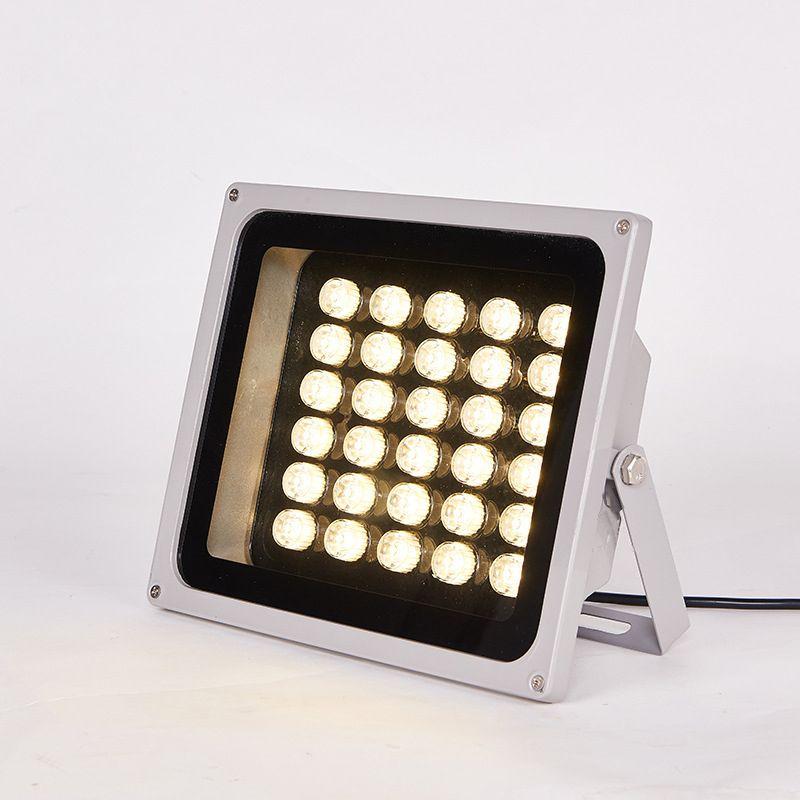 LED投射灯led户外投光灯防水洗墙灯48W照树灯室外园林景观灯大功率外墙照明