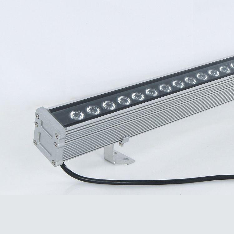 LED洗墙灯厂家三合一全彩洗墙灯DXM512洗墙灯楼体装饰灯LED线条灯36W