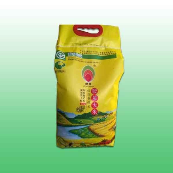 阜新市粳星大米5kg编织袋销售