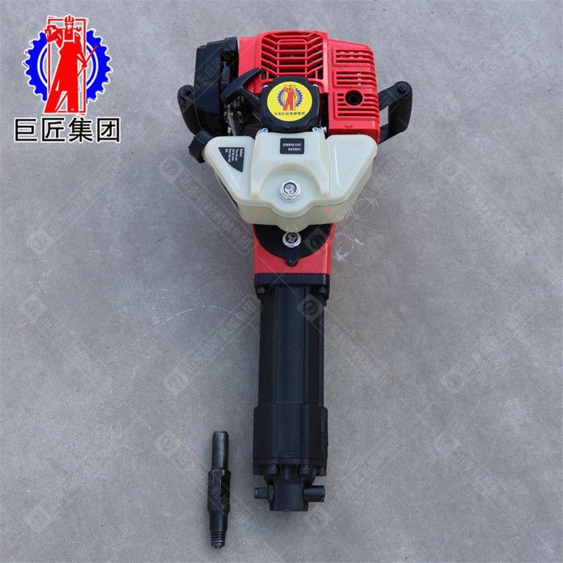山东巨匠QTZ-2手持式土壤采样钻机 便携式冲击取样钻机