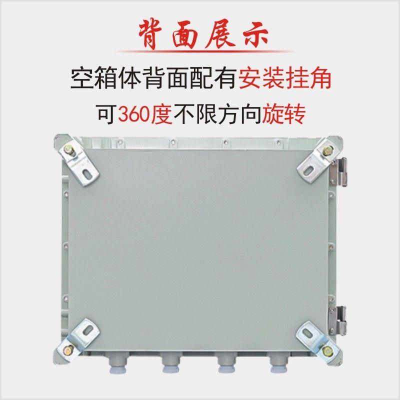 防爆配电箱增安隔离防腐仪表动力柜输电照明控制EX回路接线铝合金