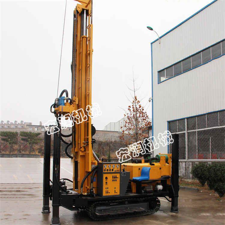 直销履带式气动水井钻机 钻孔快气动水井钻机 农用水井钻机厂家