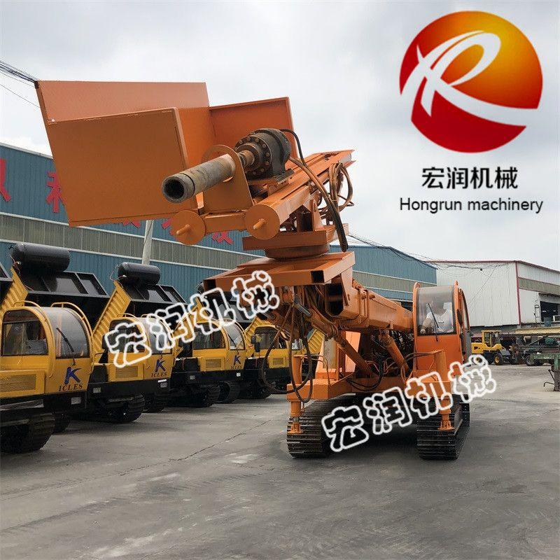 新型基坑支护钻机 360度多功能锚固钻机 边坡支护锚固钻机
