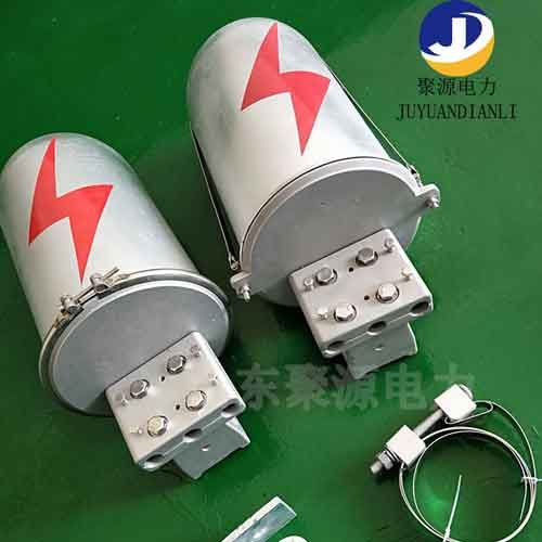 塔用桿用鋁合金接頭盒金屬接線盒24芯一進一出生產廠家直銷