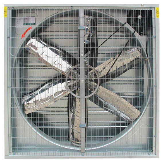 猪舍降温湿帘冷风机养猪场降温冷风机图片