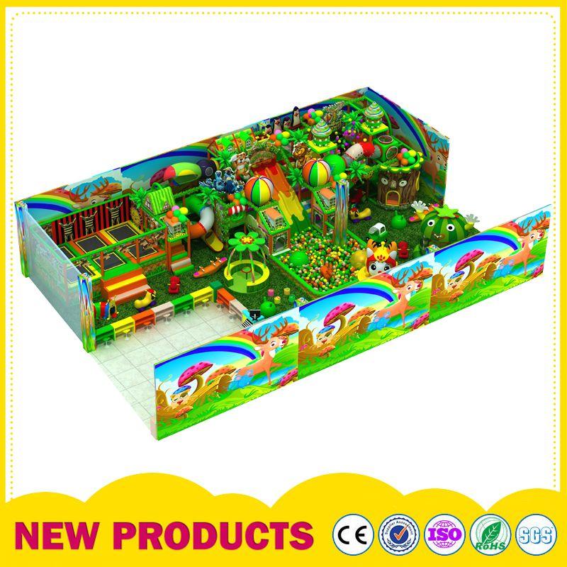森林淘气堡 室内淘气堡儿童乐园设备 大型主题儿童室内商场蹦床