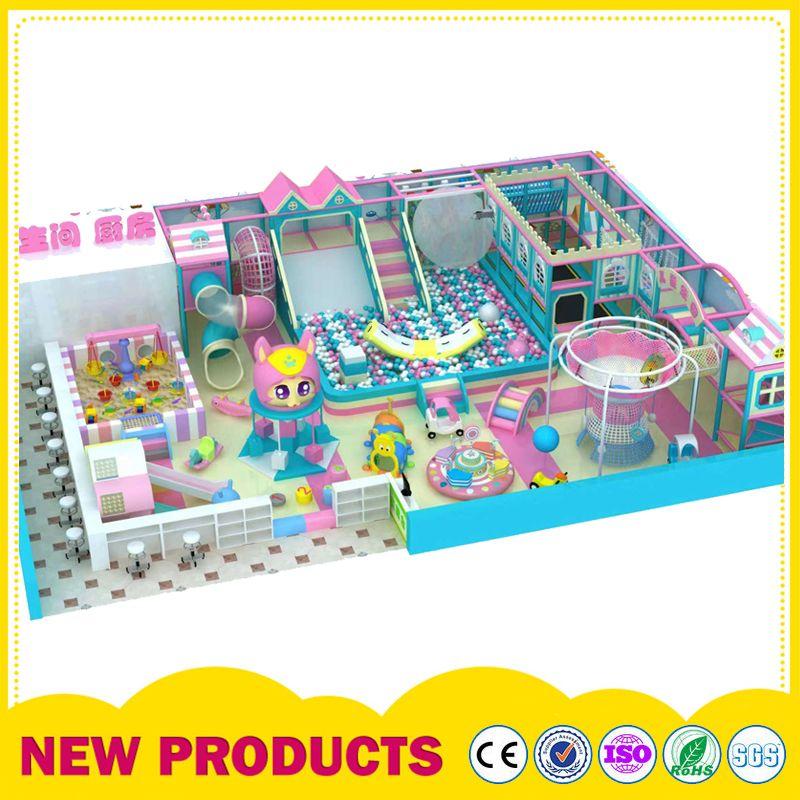 室内淘气堡儿童乐园设备 大型主题亲子乐园海洋球池 滑滑梯