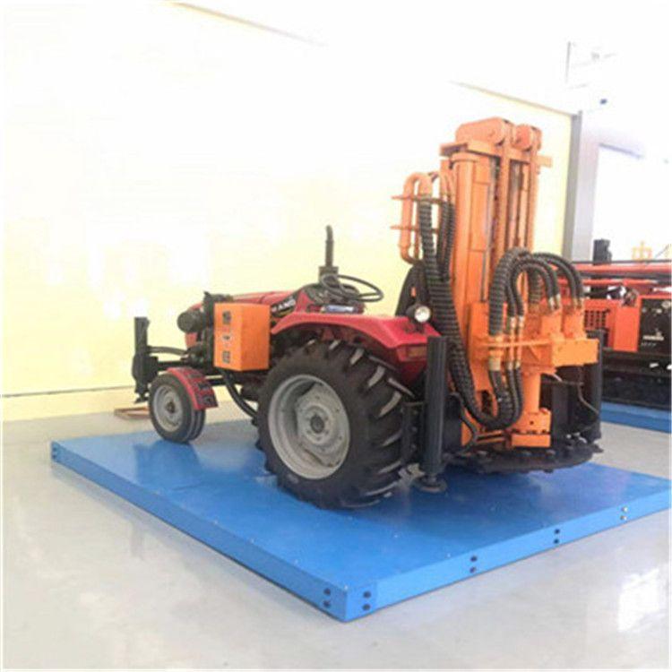 拖拉机气钻供应 小型拖拉机打井机 200米拖拉机钻机 拖拉机气钻