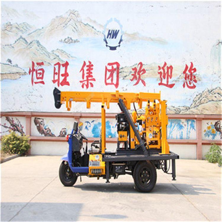 山东热销厂家生产230车载钻机 水井钻机 百米液压勘探钻机打井机