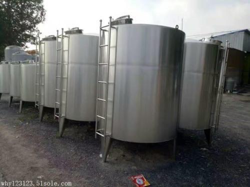 定制全新不锈钢304材质工业食品乳品储罐