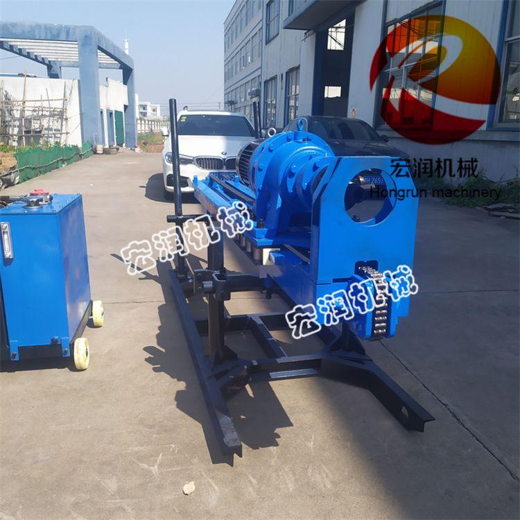锚固钻机施工场地 液压护坡钻孔机 气动冲击式钻孔机