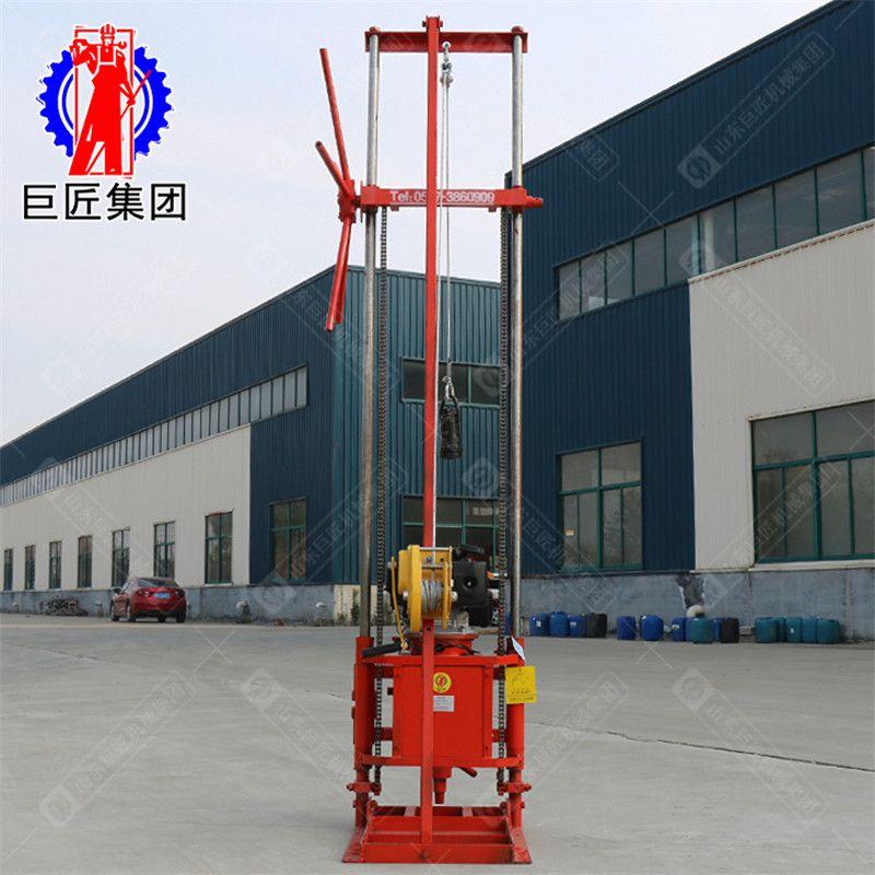 华夏巨匠QZ-2CS型卷扬机款轻便取样钻机 勘探机械取芯钻机