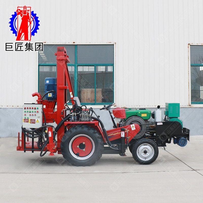 华夏巨匠JZ-C型拖拉机正循环打井钻机 大功率水井钻机