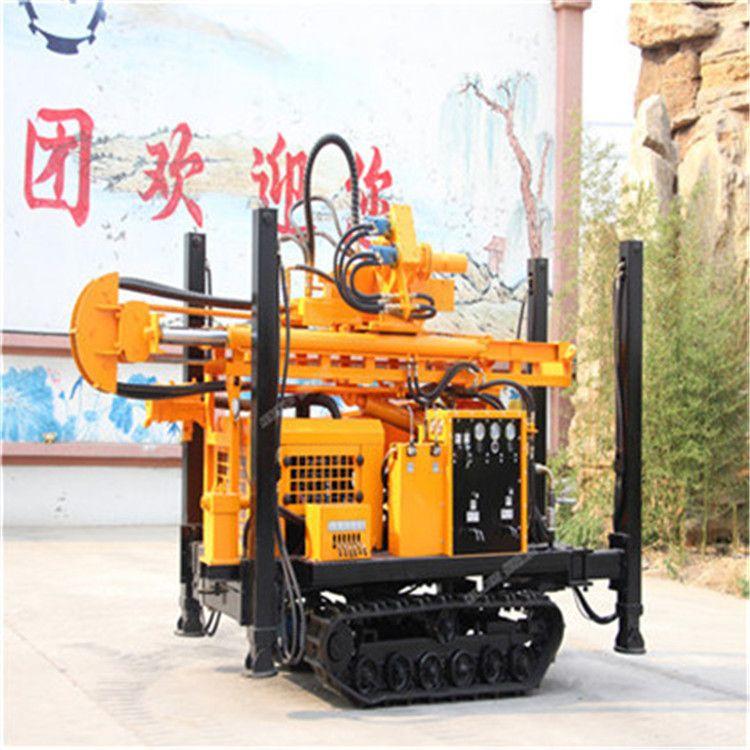 气动打井机 履带支腿200米打井机岩心钻机厂家直销 气动水井钻机