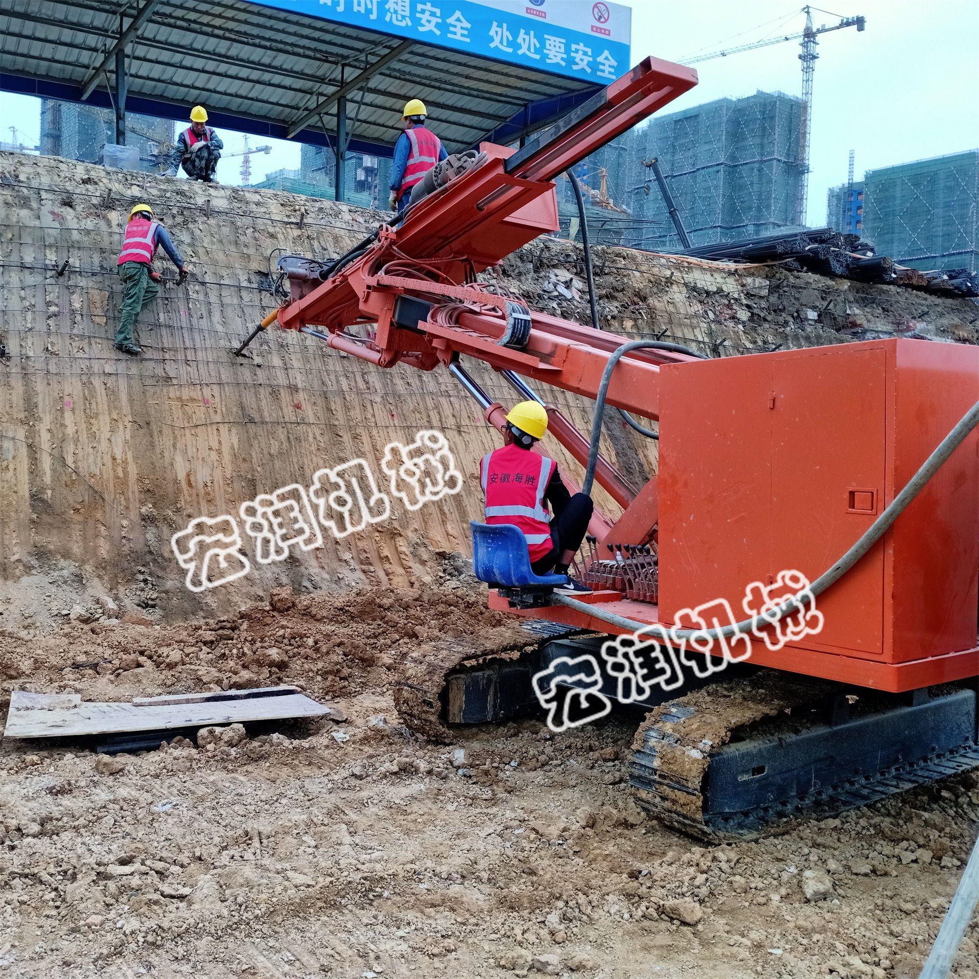 现货出售锚固护坡打桩机 液压锚固钻机 边坡锚固钻机