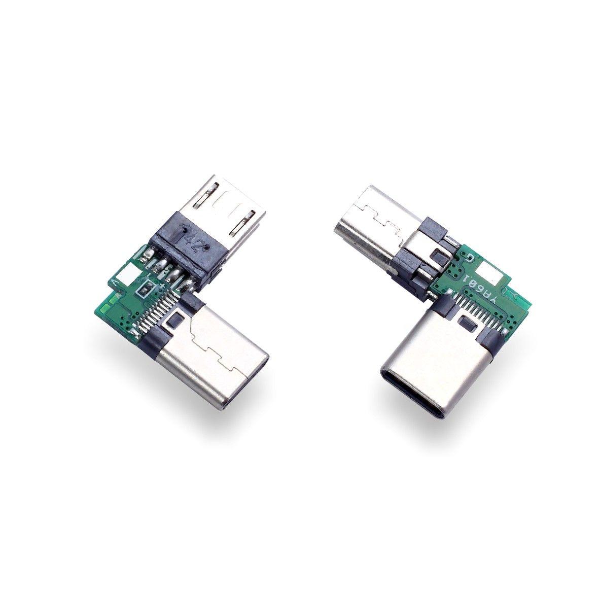 深圳移动电源USB二合一连接器