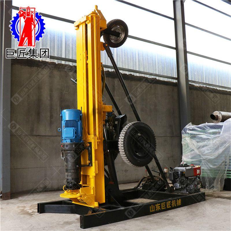 山东巨匠气动200型水井钻机 钻井设备气动打井机巨匠直销