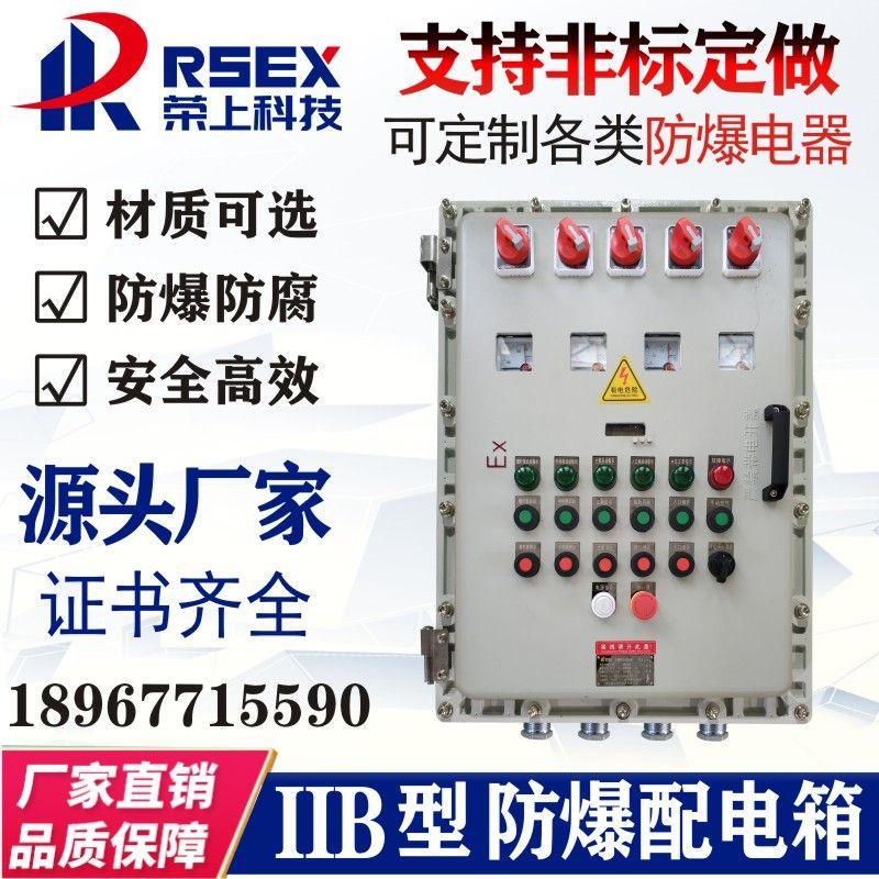 非标订做防爆型配电箱控制柜厂家生产制造直销