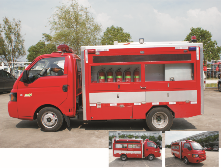 城市消防应急车