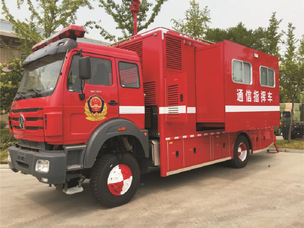 消防通信指挥车多少钱