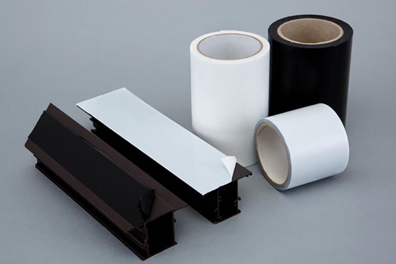 常年供应10丝高粘白色铝合金保护膜 可印字